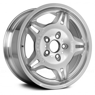"Replace® - 17"" Remanufactured 5 Spokes Polished Factory Alloy Wheel"