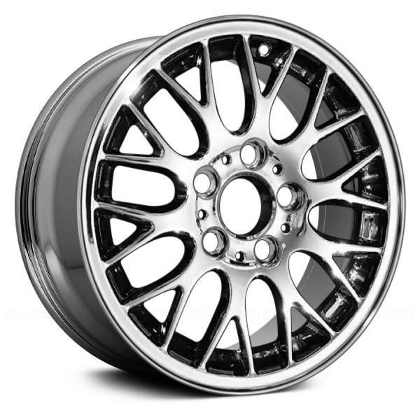 "Replace® - 16"" Remanufactured Forked Spokes Chrome Factory Alloy Wheel"
