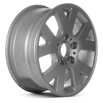 "Replace® - 16"" Remanufactured 5 Forked Spokes Bright Sparkle Silver Factory Alloy Wheel"