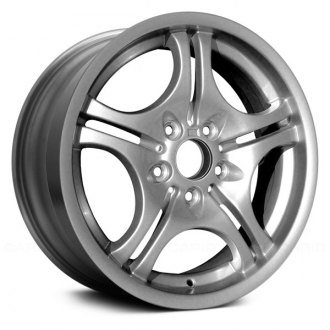 "Replace® - 17"" Remanufactured 10 Spokes Medium Silver Factory Alloy Wheel"