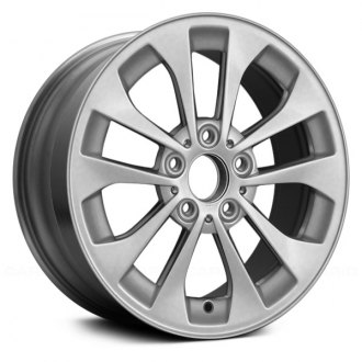 "Replace® - 17"" Remanufactured 10 Spokes Silver Factory Alloy Wheel"