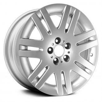 "Replace® - 18"" Remanufactured 7 Double Spokes Silver Factory Alloy Wheel"
