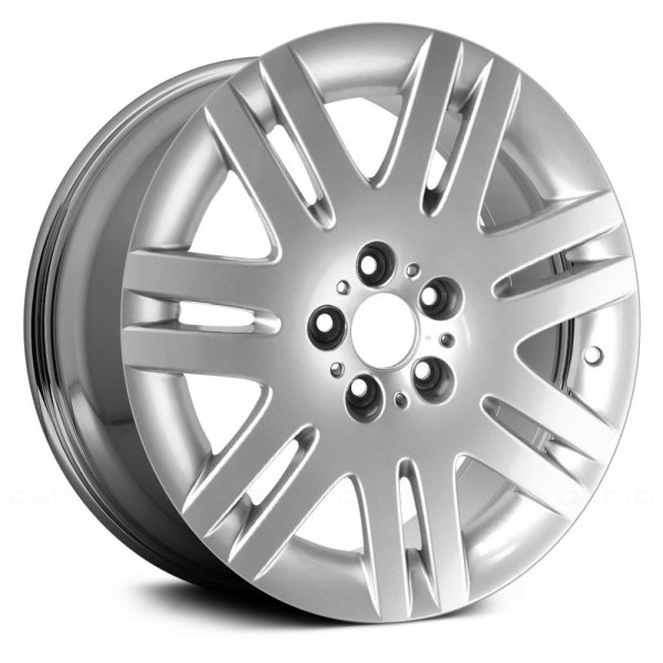 "Replace® - 18"" Remanufactured 7 Double Spokes Chrome Factory Alloy Wheel"