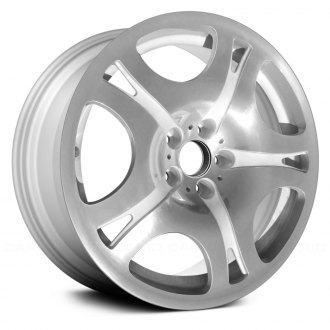 "Replace® - 19"" Remanufactured 10 Spider Spokes Polished and Painted Factory Alloy Wheel"