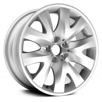 "Replace® - 19"" Remanufactured 5 V Spokes Silver Factory Alloy Wheel"