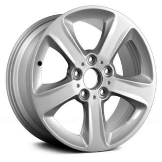 "Replace® - 17"" Remanufactured 5 Flat Spokes Factory Alloy Wheel"
