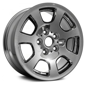 "Replace® - 16"" Remanufactured 7 Vents Chrome Factory Alloy Wheel"