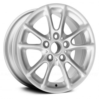 "Replace® - 16"" Remanufactured 10 Radial Spokes Silver Factory Alloy Wheel"