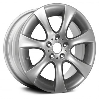"Replace® - 18"" Remanufactured 7 Flared Spokes Silver Factory Alloy Wheel"
