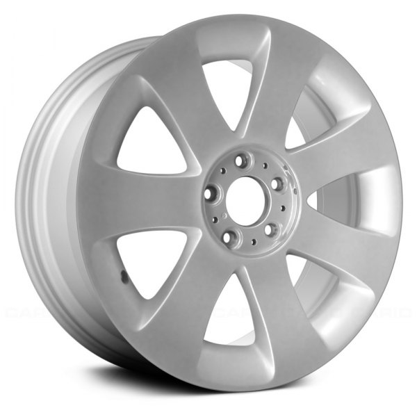 "Replace® - 18"" Remanufactured 7 Spokes All Painted Silver Factory Alloy Wheel"