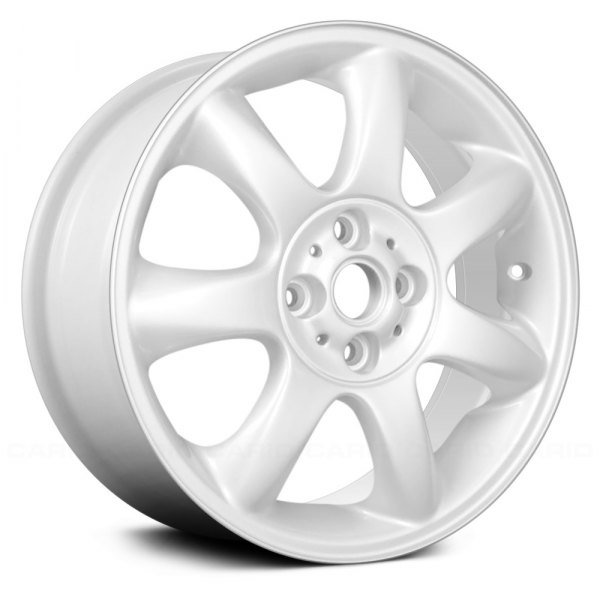 "Replace® - 16"" Remanufactured 7 Spokes White Factory Alloy Wheel"