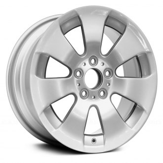 "Replace® - 17"" Remanufactured 7 Spokes All Painted Silver Factory Alloy Wheel"