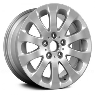 "Replace® - 17"" Remanufactured 10 Spokes All Painted Silver Factory Alloy Wheel"