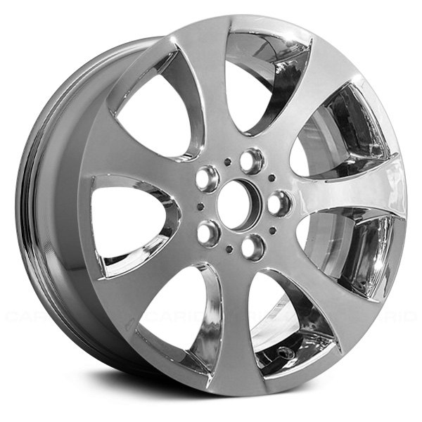 "Replace® - 18"" Remanufactured Front 7 Spokes Aftermarket Chrome Factory Alloy Wheel"