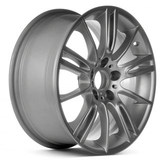 "Replace® - 18"" Remanufactured 10 Alternating Spokes Hyper Silver Factory Alloy Wheel"
