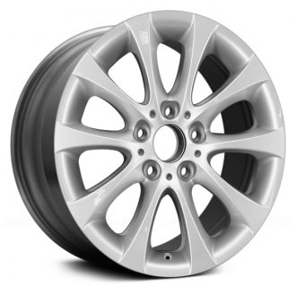 "Replace® - 17"" Remanufactured 10 V Spokes All Painted Silver Factory Alloy Wheel"