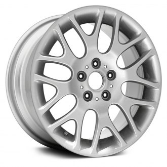 "Replace® - 18"" Remanufactured 8 Y Spokes All Painted Silver Factory Alloy Wheel"