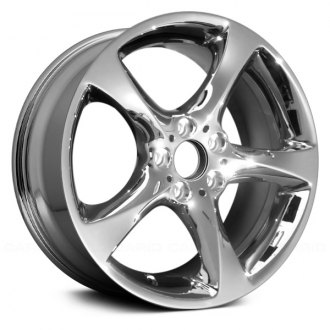 "Replace® - 19"" Remanufactured 5 Spokes Chrome Factory Alloy Wheel"