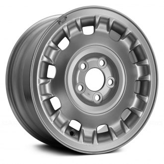 "Replace® - 16"" 10 Raised-Spoke Silver Factory Alloy Wheel (Remanufactured)"