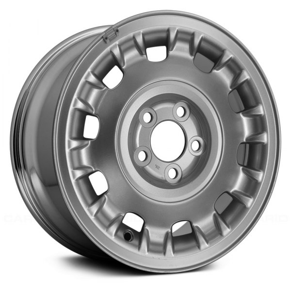 "Replace® - 16"" Remanufactured 10 Raised Spokes Chrome Factory Alloy Wheel"