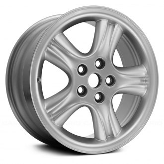 "Replace® - 18"" 5-Spoke Silver Factory Alloy Wheel (Remanufactured)"