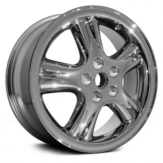 "Replace® - 18"" 5-Spoke Chrome Factory Alloy Wheel (Remanufactured)"