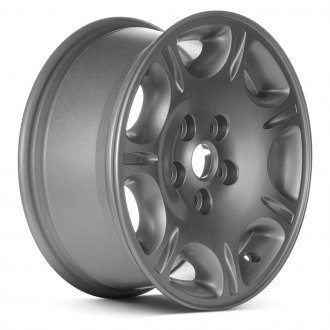 "Replace® - 16"" 7-Spoke Sparkle Silver Acrylic Factory Alloy Wheel (Remanufactured)"