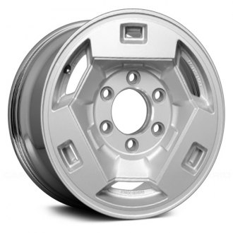 "Replace® - 15"" Remanufactured 6 Slots Chrome Factory Alloy Wheel"