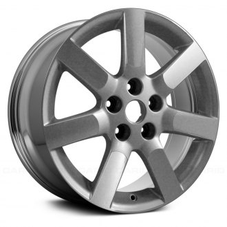 "Replace® - 17"" Remanufactured 7 Spokes Chrome Factory Alloy Wheel"