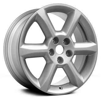 "Replace® - 18"" 6 Spokes Silver Factory Alloy Wheel"