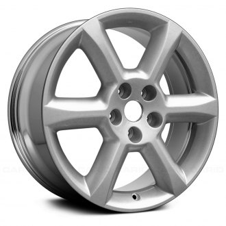 "Replace® - 18"" Remanufactured 6 Spokes Chrome Factory Alloy Wheel"