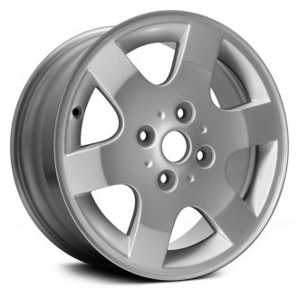 "Replace® - 16"" Replica 6 Spokes Silver Factory Alloy Wheel"