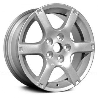 Replace 16x6 5 6 Spoke Silver Alloy Factory Wheel