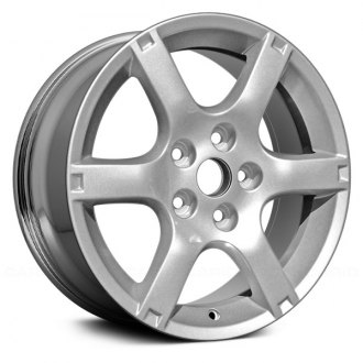 2005 nissan altima replacement factory wheels rims carid Sporty Nissan Altima replace 16x6 5 6 spoke chrome alloy factory wheel remanufactured