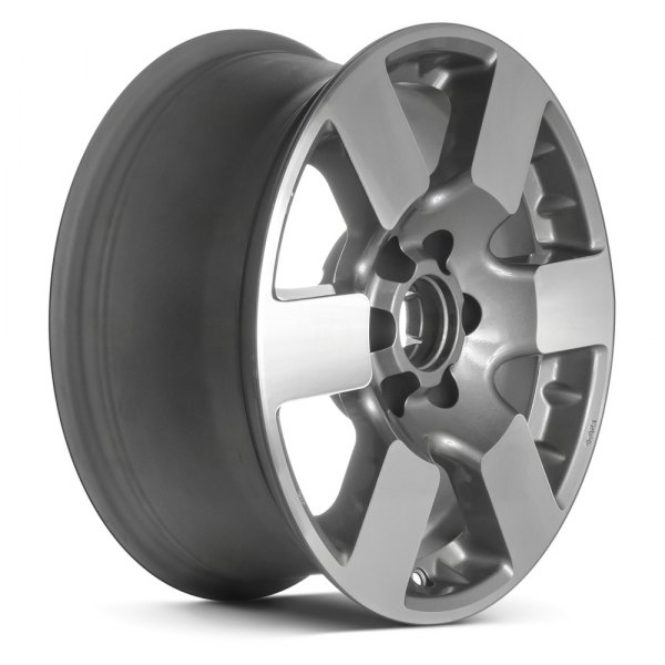 "Replace® - 16"" Remanufactured 6 Spokes Medium Gray Factory Alloy Wheel"