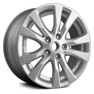 Replace 16x7 5 Double Spoke All Painted Medium Charcoal Metallic Alloy Factory Wheel