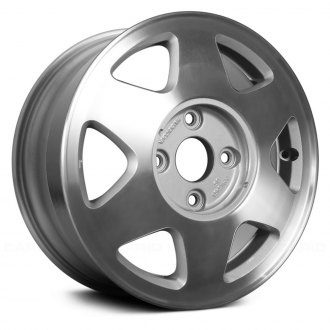 "Replace® - 15"" Remanufactured 6 Spokes Medium Silver Sparkle Factory Alloy Wheel"
