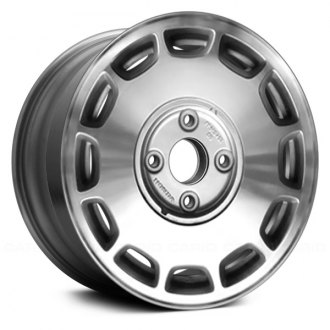 "Replace® - 15"" Remanufactured 12 Slots Medium Silver Sparkle Factory Alloy Wheel"