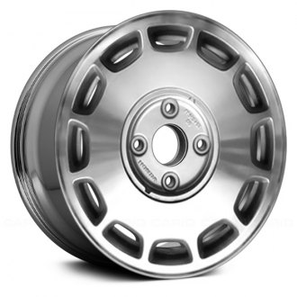 "Replace® - 15"" Remanufactured 12 Slots Chrome Factory Alloy Wheel"