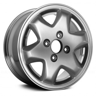 "Replace® - 15"" Remanufactured 6 Spokes Chrome Factory Alloy Wheel"
