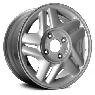 "Replace® - 15"" Remanufactured 10 Spokes Silver Factory Alloy Wheel"