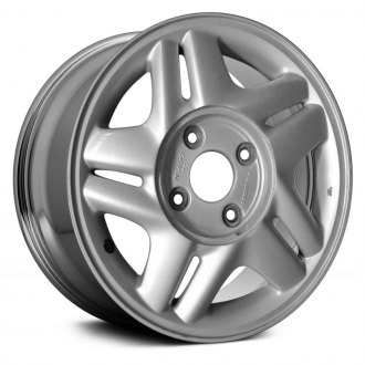 "Replace® - 15"" Remanufactured 10 Spokes Chrome Factory Alloy Wheel"