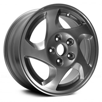 "Replace® - 16"" Remanufactured 5 Spokes Bright Silver Factory Alloy Wheel"