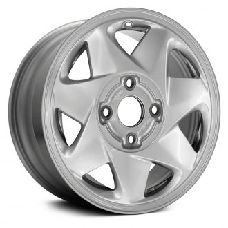 "Replace® - 15"" Remanufactured 7 Spokes Bright Silver Factory Alloy Wheel"