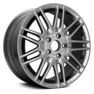 "Replace® - 17"" Remanufactured 18 Spokes Silver Factory Alloy Wheel"