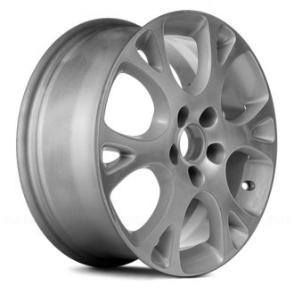 "Replace® - 17"" Remanufactured 12 Spokes Silver Factory Alloy Wheel"