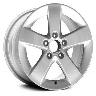 Replace 16x6 5 Spoke Silver Alloy Factory Wheel
