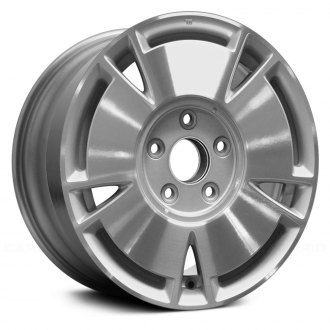 Replace 15x6 5 Spoke Machined And Silver Alloy Factory Wheel Remanufactured