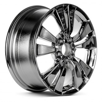 "Replace® - 17"" Remanufactured 5 V Spokes Chrome Factory Alloy Wheel"