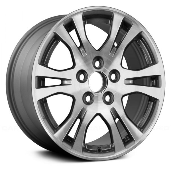 "Replace® - 17"" Replica 6 Double Spokes Charcoal Machined Factory Alloy Wheel"